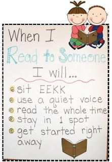 Kindergarten & First Grade Fever!: Gettin' Into the Swing of DAILY 5-Read to Someone