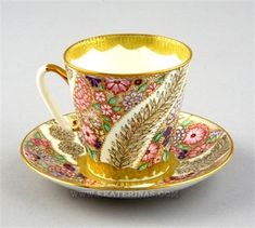 russian tea cup and saucer | Home / DISCONTINUED / Black Lace Cup & Saucer
