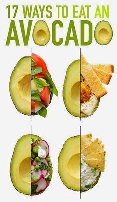 I love avocados!