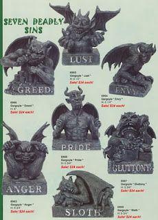 The Seven Deadly Sins according to Gargoyles.