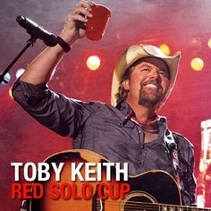 """Red Solo Cup"" is a song recorded by American country music singer Toby Keith. It is the second single from his 2011 album Clancy's Tavern, from which it was released in October 2011,[1][2] and is the only song on the album he did not write or co-write.  Lyrics http://www.azlyrics.com/lyrics/tobykeith/redsolocup.html  Video http://www.youtube.com/watch?v=BKZqGJONH68"