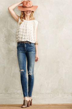 Citizens jeans #anthrofav #greigedesign