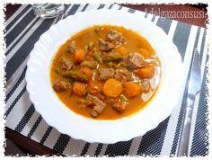 Recetas Light - Adelgazaconsusi: Estofado de pavo ligero con verduras,con receta