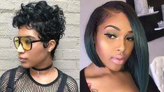 Black Hair Inspiration, Chokers, Pearl Earrings, Lady, Fashion, Moda, Pearl Studs, Fashion Styles, Bead Earrings