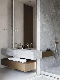 Home Interior Design .Home Interior Design Bathroom Design Inspiration, Bad Inspiration, Modern Bathroom Design, Bathroom Interior Design, Bath Design, Bathroom Designs, Design Ideas, Tile Design, Design Trends