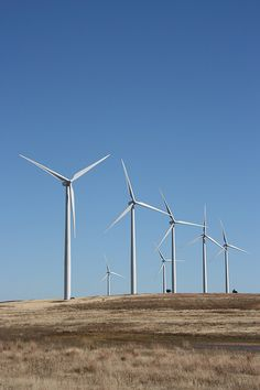 The Weatherford Wind Energy Center is a facility. It is owned and operated by FPL Energy. PSO purchases all of the output under a long-term contract. What Is Wind Energy, Building A Wind Turbine, Wind Power, Alternative Energy, Save Energy, Weatherford Oklahoma, Technology, Log Projects, Tech