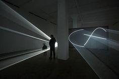 Anthony Mccall Lighting Installation  http://mymagicalattic.blogspot.com/2013/06/anthony-mccall-lighting-installation.html