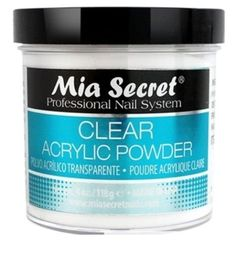 Mia Secret Professional Acrylic Nail System Clear Acrylic Powder 4 oz ** Check out this great product. (This is an affiliate link) Acrylic Nail Liquid, Acrylic Nail Powder, Clear Acrylic Nails, Acrylic Nails At Home, Acrylic Nail Art, Powder Nails, Acrylic Nail Designs, Acrylic Nail Supplies, Brand Review