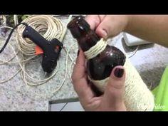 (482) Garrafa decorada - YouTube
