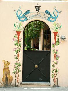 my home town , dutch door for new house Ajijic Mexico Door