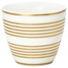 "GreenGate Latte Cup ""Thiana"" (Gold)"