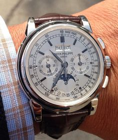 """You never own a Patek Philippe you simply look after it for your children"""