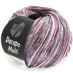 DACAPO Multi 102-lilac / pink / nutria / ecru