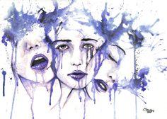 """Melancholy blue"""