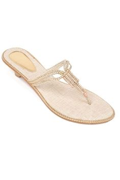 The Vesta Braided Crystal Sandals are perfect for nights spent near the sea and sand.