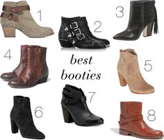 fall bootie round-up