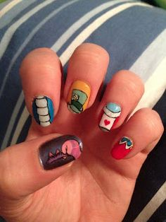 NAILS FROM ALICE IN WONDERLAND! AWWWWWWWWWWWWWWWWWWWWW!!!!!!!!!!!!!!!!!!!!!!!!!!!!!