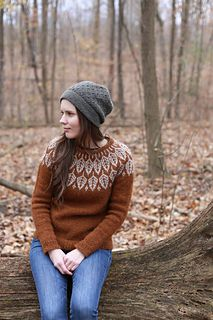Ravelry: Arboreal sweater knitting pattern by Jennifer Steingass