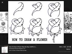 An easy way to draw a flower awesome art pinterest awesome an easy way to draw a flower awesome art pinterest awesome art art drawings and drawings ccuart Gallery