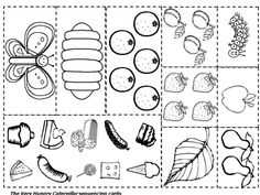 25+ Awesome Picture of Hungry Caterpillar Coloring Pages