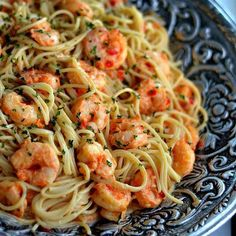 """Bang Bang Shrimp and Pasta  Source/credits: luvabargain.com. Please visit her blog  Serves: 4  Ingredients 1 lb of thin spaghetti or angel hair pasta (can…"""