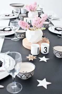 New year eve table decor