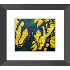 Transform and Be Free - Framed Print of Acrylic Paint Butterfly Fine Art - The Unfolding Butterfly