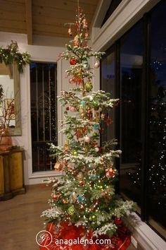 Nuestro árbol de Navidad 2017 Decoracion vintage para Navidad