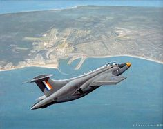 ☆ South African Air Force ✈ 142 Hawker Siddeley S Buccaneer over Port Elizabeth, 1966 Air Force Aircraft, Fighter Aircraft, Fighter Jets, Blackburn Buccaneer, Air Force Day, C130 Hercules, South African Air Force, F14 Tomcat, Army Day