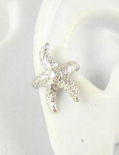 Amazon.com: Sterling Silver Starfish Ear Cuff LEFT Earring: Sandra Callistra: Jewelry.. LOVE THIS...$26.95