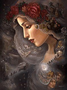 The Spectre Bridegroom by Mia Araujo, via Flickr