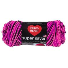 Red Heart Super Saver Lrg Skein YARN 7oz 364 yds pattern choose from asst colors