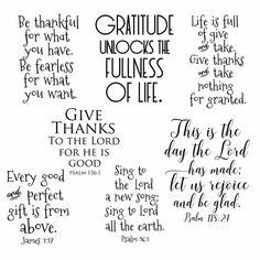 Gratitudes Quotes:Bible Verses, Bible Quotes, Thanksgiving Quotes, Gratitude Journaling, Gratitude Word Art, Photo Overlays, Sayings, #10416
