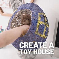 We're getting creative this Easter! 🐣 Help the kids make their fluffy favourites an eggcellent home of their own Home Crafts, Fun Crafts, Crafts For Kids, Easter Activities, Activities For Kids, Hobbies And Crafts, Arts And Crafts, Little Acorns, Toy House