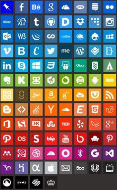 Icone semplici gratuiti [[MORE]] 100 icone PNG in undici dimensioni, da 16px a 4096px Scarica