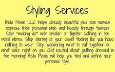 Styling Services Amanda offers
