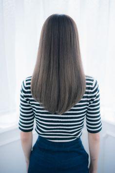 Aライン愛されロング | 柏・我孫子の美容室 Lapage Cheveuxのヘアスタイル | Rasysa(らしさ)