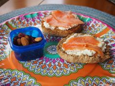 English Muffin With Cream Cheese and Lox
