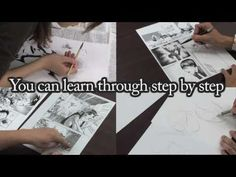 Manga drawing lesson by professional artists (promotion video) マンガの描き方講座...