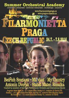 Summer Orchestral Academy Filarmonietta Praga 2016