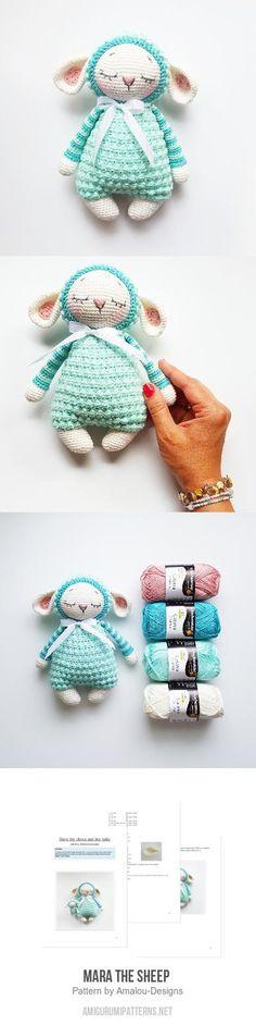 Mesmerizing Crochet an Amigurumi Rabbit Ideas. Lovely Crochet an Amigurumi Rabbit Ideas. Crochet Doll Pattern, Crochet Toys Patterns, Amigurumi Patterns, Crochet Dolls, Knitting Patterns, Crochet Sheep Free Pattern, Easter Crochet, Cute Crochet, Crochet Baby