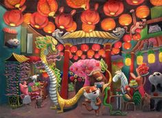 eatsleepdraw:  China Town