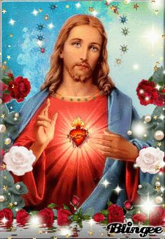Jesus And Mary Pictures, Pictures Of Christ, Mary And Jesus, Jesus Is Lord, Jesus Wallpaper, Jesus Christ Images, Spiritual Prayers, Mama Mary, Heart Of Jesus