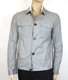 $1195 New Authentic Gucci Button Up Jacket Coat EU 48/US 38, 233160 #Gucci #BasicJacket
