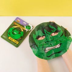 The Incredible Hulk Face Mask – The Caveman's Guide