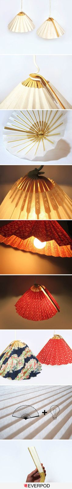 DIY Fan light