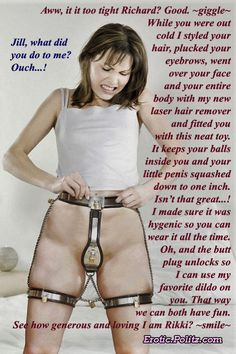 Permanent Chastity Stories : permanent, chastity, stories, Captions, Forced, Permanent, Chastity, Piercings, Pussy