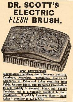 Dr Scott's Electric Flesh Brush #WTF