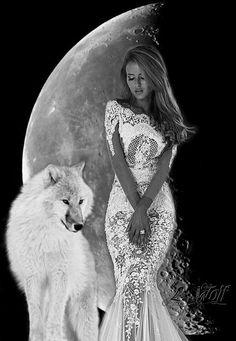 Lady wolf