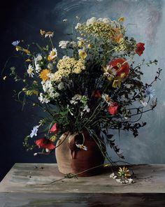 Floral Still-Lifes That Recall Old Masters Paintings